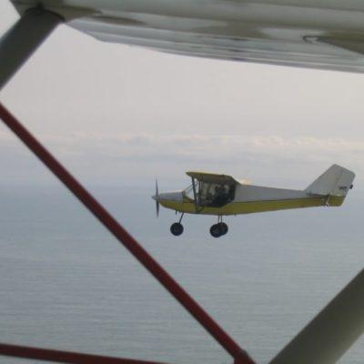 Baptême de l'air en avion en Bretagne
